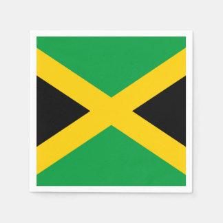 Jamaican Flag Paper Napkin