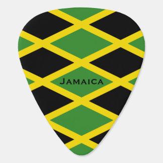 Jamaican Flag Pattern Jamaica Island Caribbean Pick