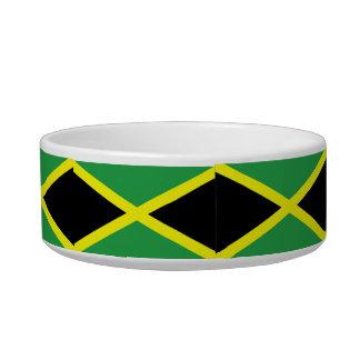 Jamaican Flag Pet Bowl Cat Water Bowl