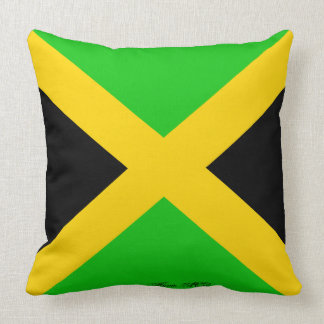 JAMAICAN FLAG PILLOW COUCH HUGGER PILLOW