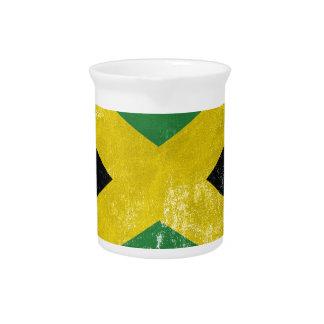 Jamaican Flag Pitcher