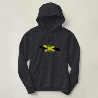 Jamaican flag - Proud Jamaicans - Queen Hoodie