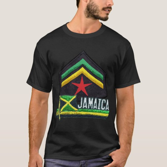 Jamaican Flag Rasta T-shirt