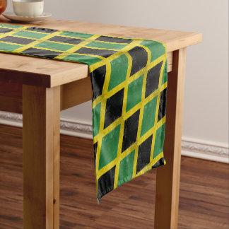 Jamaican Flag Short Table Runner