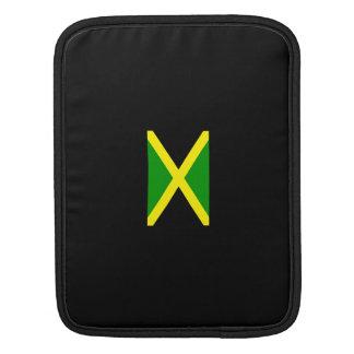 Jamaican Flag Sleeve iPad Sleeves