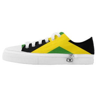 Jamaican Flag Sneakers