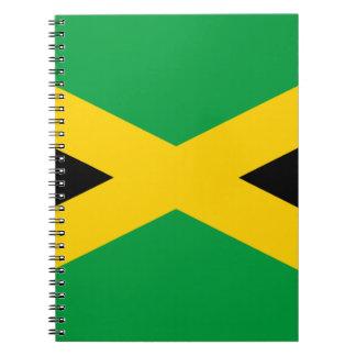 Jamaican Flag Spiral Notebooks