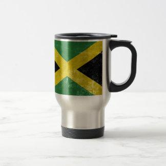 Jamaican Flag Travel Mug
