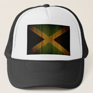 Jamaican flag. trucker hat