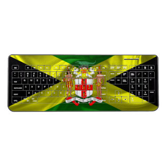 Jamaican flag wireless keyboard