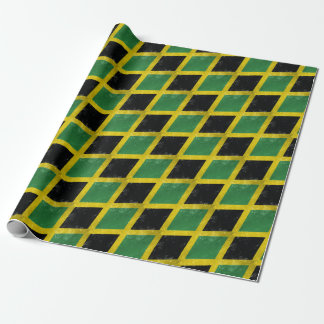 Jamaican Flag Wrapping Paper