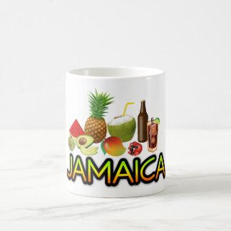 Jamaican food coffee mug