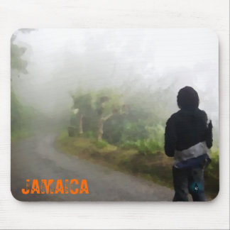 Jamaican Forrest Mouse Pad