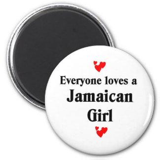 Jamaican Girl Magnet