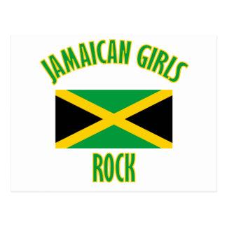 Jamaican girls DESIGNS Postcard