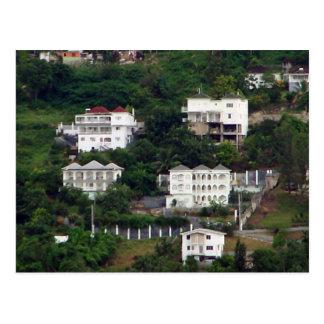 Jamaican Homes Postcard