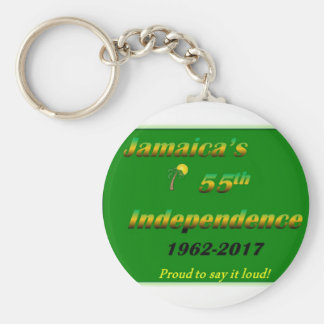 Jamaican Independence Key Chain