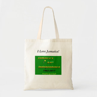 Jamaican Independence Tote Bag