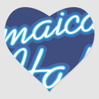 Jamaican Ital originals Heart Sticker