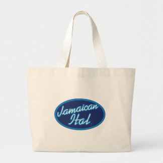 Jamaican Ital originals Large Tote Bag