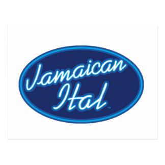 Jamaican Ital originals Postcard