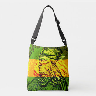Jamaican Lion of Judah Cross Body Bag