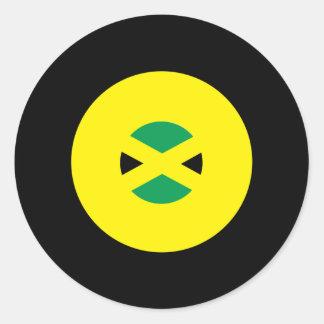 Jamaican Mod Round Sticker