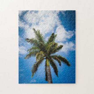 Jamaican Palm Tree Jigsaw Puzzle