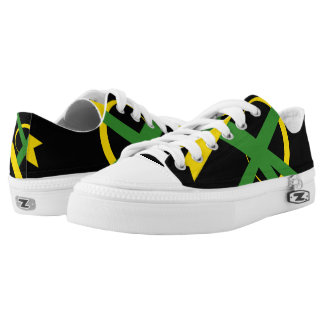 Jamaican Portal Lo-Top Sneakers Printed Shoes