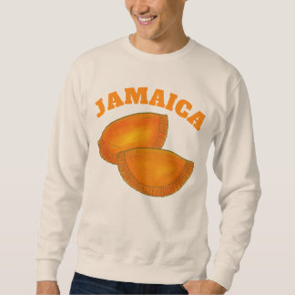 Jamaican Spicy Beef Patty Patties Jamaica Pastry Sweatshirt