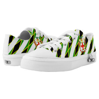 Jamaican stripes flag Low-Top sneakers
