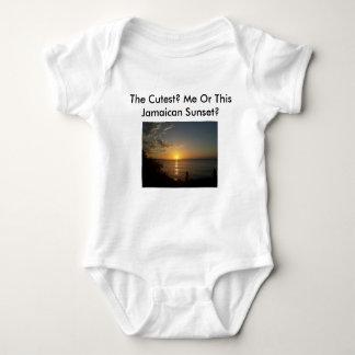 Jamaican Sunset Baby Bodysuit