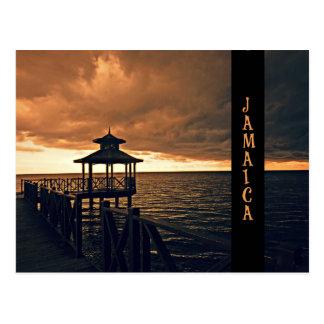 Jamaican Sunset Postcard
