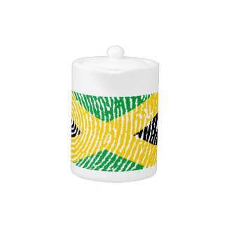Jamaican touch fingerprint flag