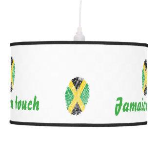 Jamaican touch fingerprint flag ceiling lamps