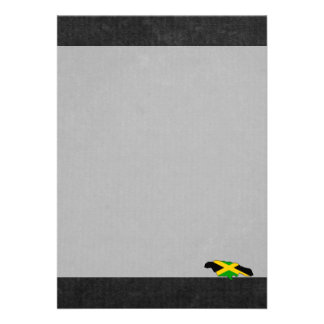 "Jamaican Trip Souvenir 5"" X 7"" Invitation Card"
