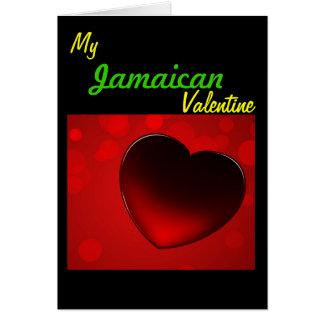 Jamaican Valentines Card