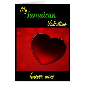 Jamaican Valentines Card (Oversize)