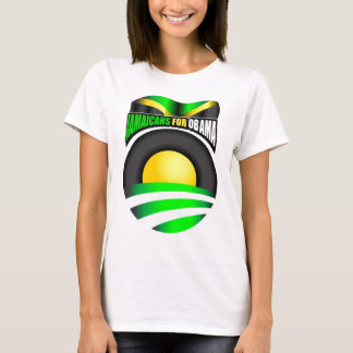 Jamaicans for Obama T-Shirt