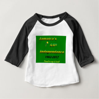 Jamaica's  55th Independence (Green) Baby T-Shirt