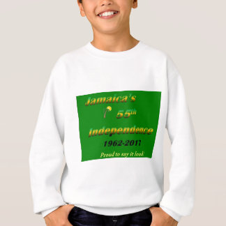 Jamaica's  55th Independence (Green) Sweatshirt