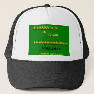 Jamaica's  55th Independence (Green) Trucker Hat