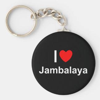 Jambalaya Keychain