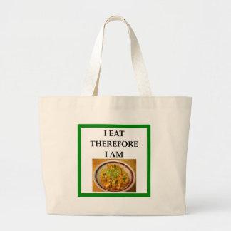 jambalaya large tote bag