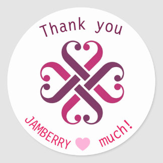 Jamberry thank you mailing envelope seals
