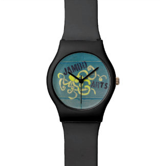 Jambo Arts Octopus Mural Watch