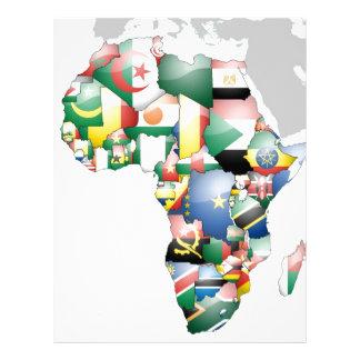 Jambo Habari Africa Beautiful Hello Mama Africa Personalized Letterhead