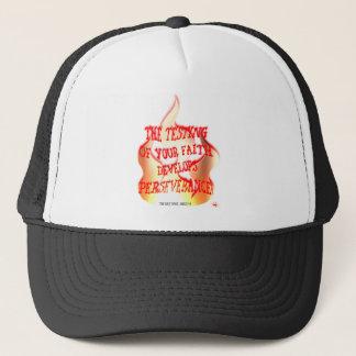 james 1 trucker hat