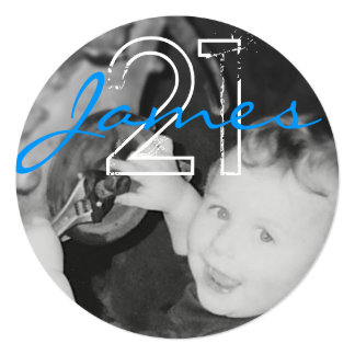 James 21st (Circle Range) Card