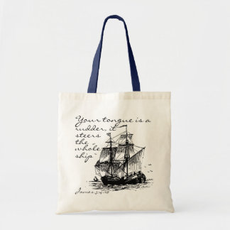 James 3:4-10 Ship tote